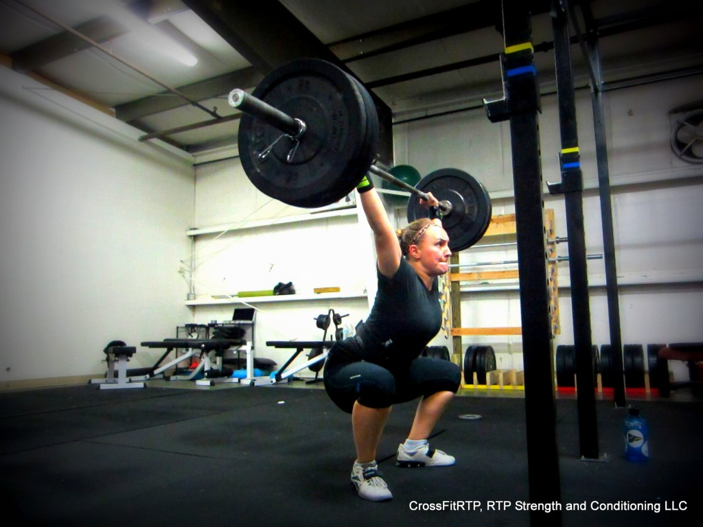 Julie Overhead Squat