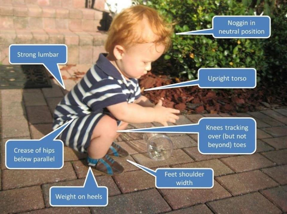 Child Squat