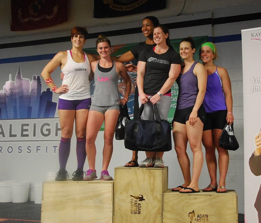 CCCC Womens Rx Team Podium Kim