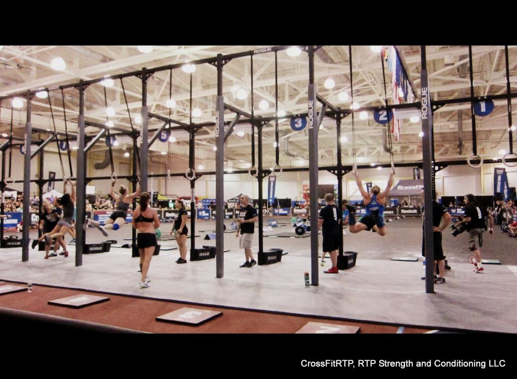 Kris Muscle Up Regionals Event 3