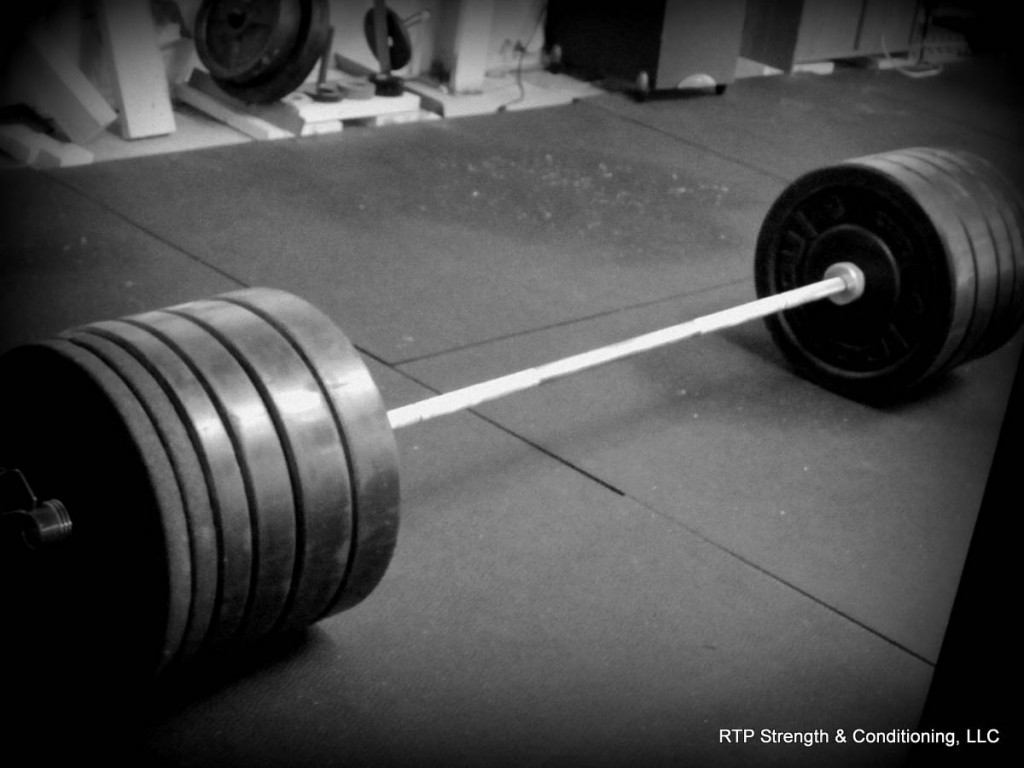 Lone barbell