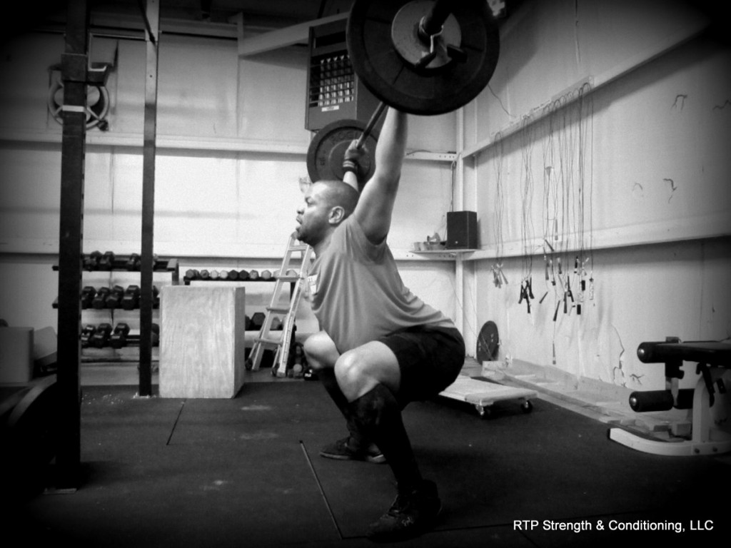 Rob Overhead Squat