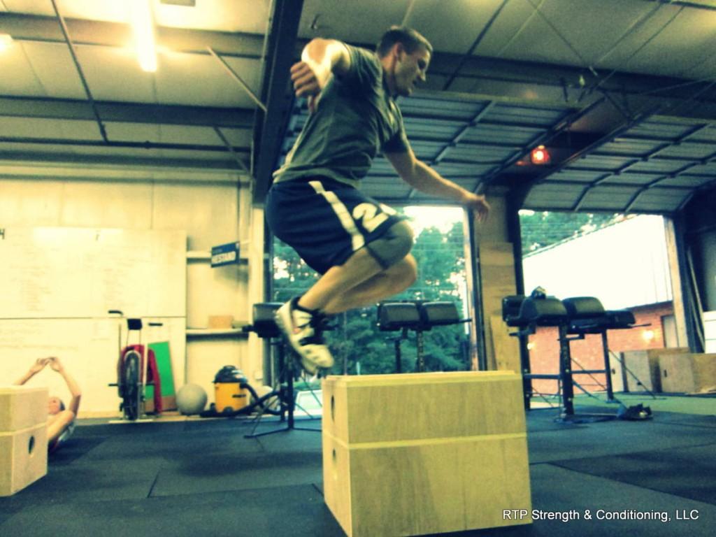Josh Over the Box Jump