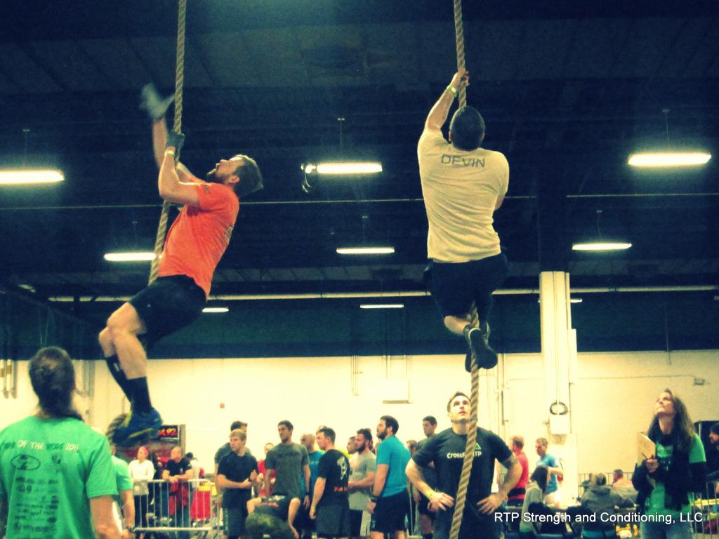 Devin Rope Climb
